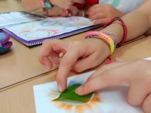 IIMM plantas hojas 4º (5) plástica manos